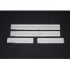 Накладки на пороги (нерж.) для Citroen C4 Picasso 2006-2010 (Omsa Prime, 1503091)