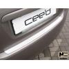 Накладка на задний бампер для Kia Ceed (5D) 2006+ (NATA-NIKO, B-KI01)