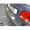 Накладка на задний бампер Chevrolet Cruze (5D) 2011+ (NATA-NIKO, B-CH07)