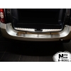 Накладка на задний бампер для Renault Duster 2010+ (NATA-NIKO, B-RE01)