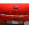 Накладка на задний бампер для Hyundai Getz (5D) 2002+ (NATA-NIKO, B-HY01)