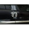 Накладки на дверные ручки (нерж., 8-шт.) для Citroen Nemo Minivan/Mpv 2007+ (Omsa Prime, 2521043)