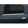 Накладки на дверные ручки (нерж., 4-шт.) для Dacia Logan SD 2005-2008 (Omsa Prime, 2003041)