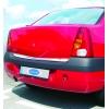 Хром накладка на кромку багажника (нерж.) для Dacia Logan 2005+ (Omsa Prime, 2001052)