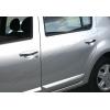 Накладки на дверные ручки (нерж., 4-шт.) для Dacia Sandero I (5D) HB 2008-2012 (Omsa Prime, 2004041)