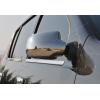 Накладки на зеркала (нерж., 2 шт.) для Dacia Sandero I (B0) 5D HB 2008-2012 (Omsa Prime, 2004111)