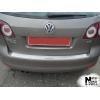 Накладка на задний бампер для Volkswagen Golf V/VI Plus 2004-2008 (NATA-NIKO, B-VW11)