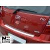 Накладка на задний бампер для Hyundai i10 (5D) 2008+ (NATA-NIKO, B-HY02)