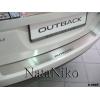 Накладка на задний бампер для Subaru Legacy V (4D) 2009+ (NATA-NIKO, B-SB09)