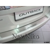 Накладка на задний бампер для Subaru Outback IV 2009+ (NATA-NIKO, B-SB05)