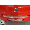 Накладка на задний бампер для Volkswagen Polo V (5D) 2009+ (NATA-NIKO, B-VW23)