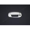 Накладка на ручку двери багажника (нерж., 2 шт.) для Fiat Doblo 2000+ (Omsa Prime, 2520051)