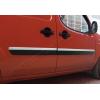МОЛДИНГ ДВЕРНОЙ (НЕРЖ., 4-ШТ., УЗКИЙ) ДЛЯ FIAT DOBLO I 2006-2010 (OMSA PRIME, 2520132)