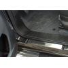 Накладки на пороги (нерж.) для FIAT Doblo II 2010+ (Omsa Prime, 2524092)