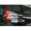 Молдинг под сдвижную дверь (нерж., 2 шт.) для Fiat Doblo II 2010+ (Omsa Prime, 2524132)