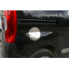 Накладка на лючок бензобака (нерж.) для Fiat Fiorino 2007+ (Omsa Prime, 2521071)