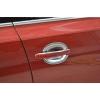 Хром накладки под ручки для Nissan Tiida 2014+ (Kindle, NT-D11)