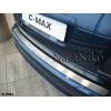 НАКЛАДКА НА ЗАДНИЙ БАМПЕР ДЛЯ FORD S-MAX 2006+ (NATA-NIKO, B-FO21)