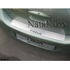 НАКЛАДКА НА ЗАДНИЙ БАМПЕР ДЛЯ NISSAN TIIDA (4D) 2007+ (NATA-NIKO, B-NI10)