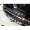 Накладка на задний бампер для Seat Toledo III 2004+ (NATA-NIKO, B-SE08)