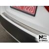 Накладка на задний бампер для BMW X1 2009+ (NATA-NIKO, B-BM03)