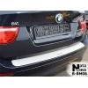 НАКЛАДКА НА ЗАДНИЙ БАМПЕР BMW X6 2008+ (NATA-NIKO, B-BM06)
