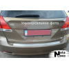 Накладка на задний бампер для Toyota Yaris II (5/3D) 2005-2011 (NATA-NIKO, B-TO09)