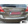 Накладка на задний бампер для Toyota Yaris III (5D) 2011+ (NATA-NIKO, B-TO10)
