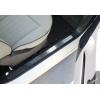 Накладки на пороги (нерж.) для FIAT 500/500C 2007-2012 (Omsa Prime, 2525092)