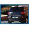 Хром накладка на кромку багажника (нерж.) для Fiat 500L 2012+ (Omsa Prime, 2529052)
