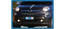 НАКЛАДКА НА НИЖНЮЮ КРОМКУ КАПОТА (НЕРЖ.) 1 ШТ. ДЛЯ FIAT 500L 2012+ (OMSA PRIME, 2529082)