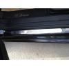 Накладки на пороги (нерж.) для FIAT Bravo (5D) HB 2008+ (Omsa Prime, 2512092)