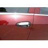 Накладки на дверные ручки (нерж., 4-шт.) для Fiat Grande Punto (5D) HB 2005+ (Omsa Prime, 2508042)