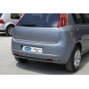 Хром накладка на кромку багажника (нерж.) для Fiat Grande Punto 2005+ (Omsa Prime, 2502052)