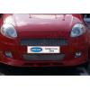 Накладки на решетку радиатора (нерж., 2 шт.) для Fiat Grande Punto (5D/3D) HB 2005-2009 (Omsa Prime, 2502081)