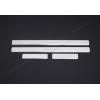 Накладки на пороги (нерж.) для FIAT Grande Punto (5D) HB 2005+ (Omsa Prime, 2502091)
