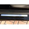 Накладки на пороги (нерж.) для FIAT Grande Punto (3D) HB 2005+ (Omsa Prime, 2502092)