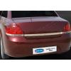 Накладка крышки багажника (над номером, нерж.) для Fiat Linea SD 2007-2011 (Omsa Prime, 2508052)