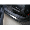 Накладки на пороги (нерж.) для FIAT Scudo 2006+ (Omsa Prime, 2522092)