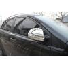 Хром накладки зеркала  (комплект 2 шт. поворот.) для   SSANG YONG KORANDO 2011+ (AUTOCLOVER, B732)