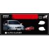 Хром накладки зеркала  (комплект 2 шт. без поворот. ) для  DAEWOO LANOS/SENS 1997+ (AUTOCLOVER,   A755)