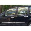 Нижние молдинги стекол (нерж., 4 шт.) для Ford С-Max I 2003-2010 (Omsa Prime, 2605141)
