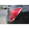 Хром накладки задних фар (комплект 2 шт.) для SSANG YONG KORANDO 2011 + (AUTOCLOVER,   B733)