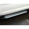 Пороги алюминиевые (Saphire V1) для INFINITI FX 50 2010+ (Can-Otomotive, INF5.47.0720)