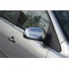 Накладки на зеркала (Abs-хром., без повтор поворота) для Ford Fiesta V HB 2006-2009 (Omsa Prime, 2602111)