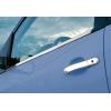 Нижние молдинги стекол (нерж., 4 шт.) для Ford Fiesta V (5D) HB 2002-2009 (Omsa Prime, 2603141)