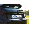 Накладка крышки багажника (над номером, нерж.) для Ford Fiesta VI (5D) HB 2009+ (Omsa Prime, 2614052)
