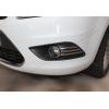 Накладки на противотуманные фонари (реснички, нерж., 6шт.) для Ford Focus 2008-2011 (Omsa Prime, 2607104)