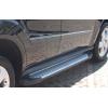 Пороги алюминиевые (Saphire V1) для MAZDA BT-50 2006+ (Can-Otomotive, MABT.47.0010)