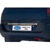Накладка крышки багажника (над номером, нерж.) для Ford Fusion 2002-2012 (Omsa Prime, 2604052)